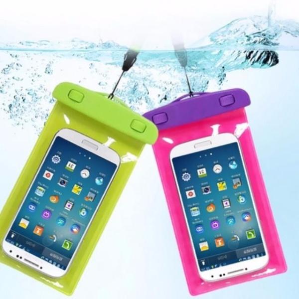 Túi đựng điện thoại chống nước đi mưa, đi bơi.. - Màu ngẫu nhiên