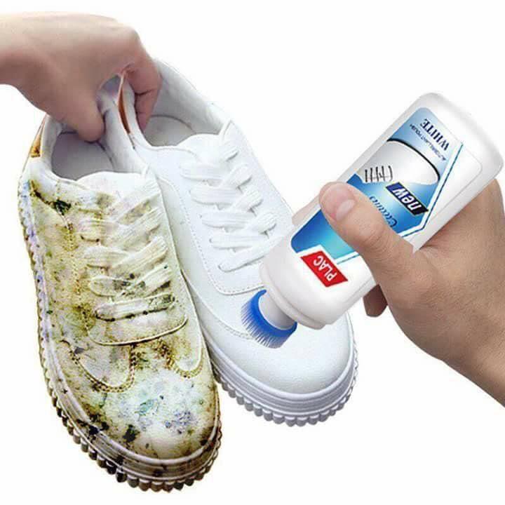 Chai Xịt Tẩy Trắng Giày, Dép Plac Dạng Cọ 100ml Ưu Đãi Bất Ngờ