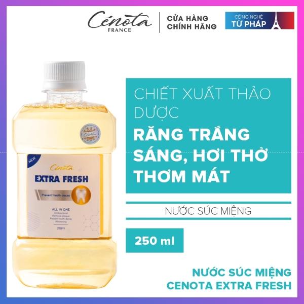 Nước súc miệng Cenota Extra Fresh 50ml Trắng sạch Thơm mát