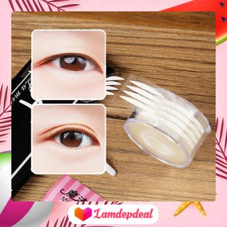 Lamdepdeal - Combo 432 miếng dán kích mí hai mặt Magic Lady kèm nhíp và que chữ Y - Miếng dán mí mắt, dán kích mí trong suốt, mắt 1 mí tạo mắt 2 mí - Dụng cụ trang điểm thumbnail