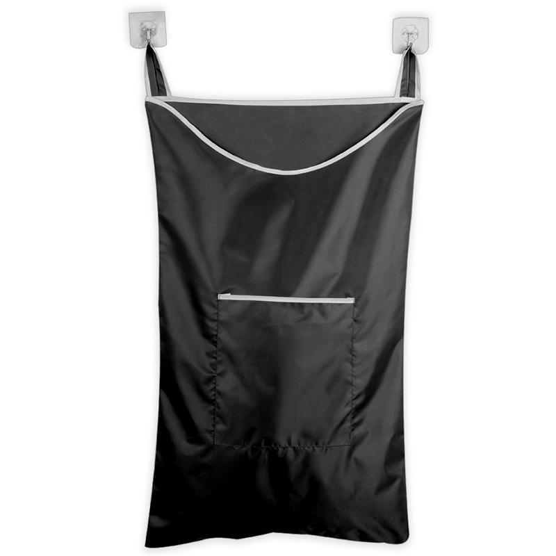 Space Saving Hanging Laundry Hamper Bag With Free Door Hooks(Black) Đang Trong Dịp Khuyến Mãi