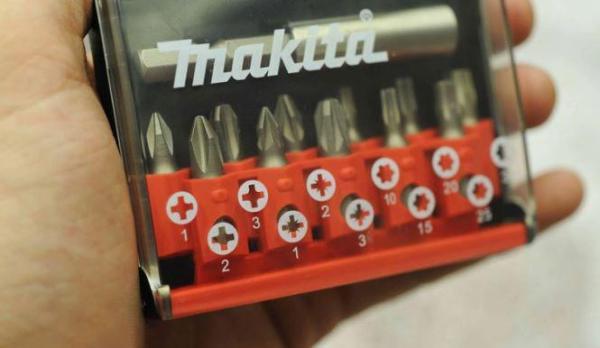 Bộ mũi vít 11 chi tiết MAKITA D-31011 (Bạc)
