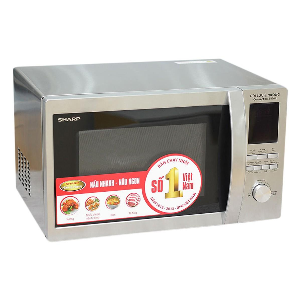 Lò vi sóng Sharp R-C932VN (10 Chế độ nấu tự động)