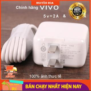 Bộ Sạc Cáp Nhanh Vivo Cho Vivo V11i, Vivo V15, Vivo S1 V9, Y71, Y1s, Y19, Y20, V20, Y50, U10, Y30, Y20s, V1, V1 Max, Y31, Y51, Y21, Y55, V3, V3 Max, V5, V5 Plus bảo hành 1 đổi 1 - Hàng ZIN Nhập Nhẩu thumbnail