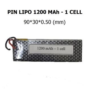 Pin LIPO 1200 MAh, 3.7V thumbnail