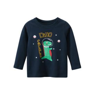 [ VIDEO] H142 Áo thun dài tay bé trai 27KIDS chất liệu 100% cotton in hình SPACE DINO (BLACK) cho bé từ 10-33kg (2 tuổi -10 tuổi ) an toàn mềm mịn thích hợp cho bé đi học đi chơi thumbnail