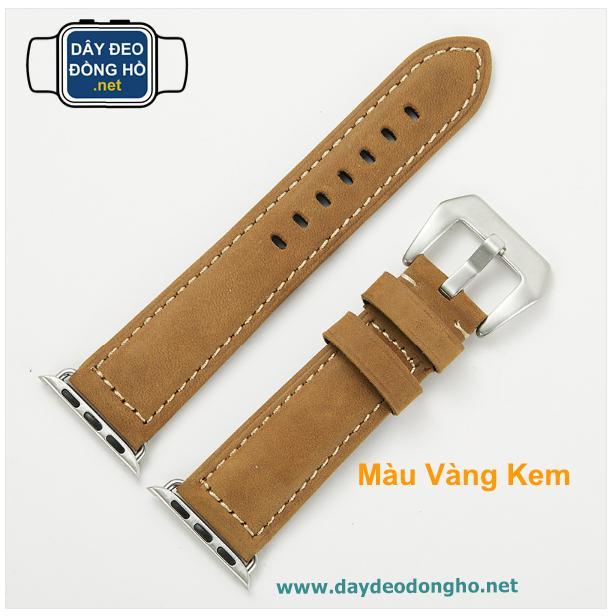 Nơi bán DÂY ĐEO ĐỒNG HỒ .net - Dây đeo đồng hồ Apple Watch - màu Vàng Kem