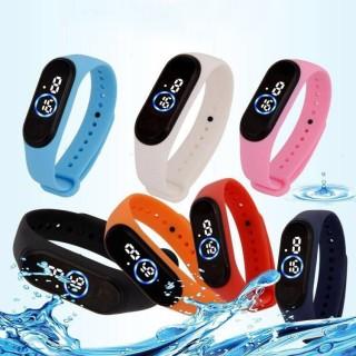Đồng hồ unisex thể thao Ulzzang sport đèn led chống nước tốt thời trang năng động giới trẻ thumbnail