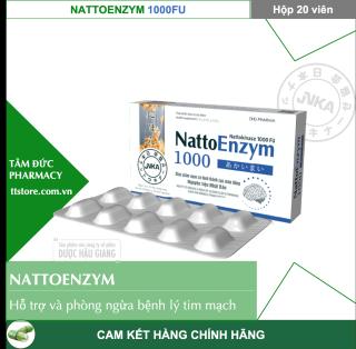 NattoEnzym DHG 1000 FU [Hộp 20 viên] - Hỗ trợ làm tan cục máu đông thumbnail