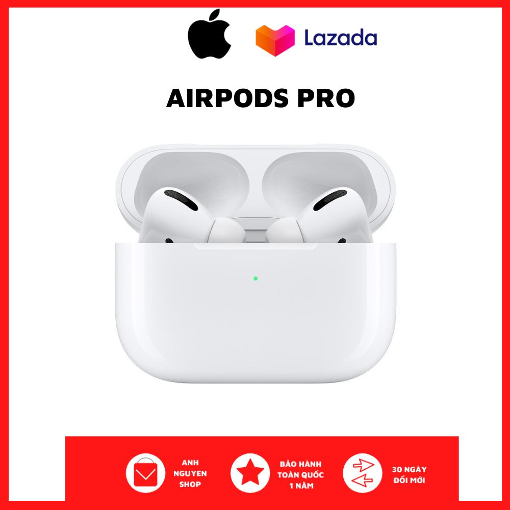 [NewSeal] Tai Nghe Bluetooth Apple AirPods Pro, Không Dây Nhét Tai Iphone Bass Mạnh - Sử Dụng Lên Tới 24h - Công Nghệ Xuyên Âm - Chống Ồn Chủ Động - Định Vị Google Map - Đổi Tên - Cảm Ứng Đa Điểm - Kháng Nước & Mồ Hôi IPX4