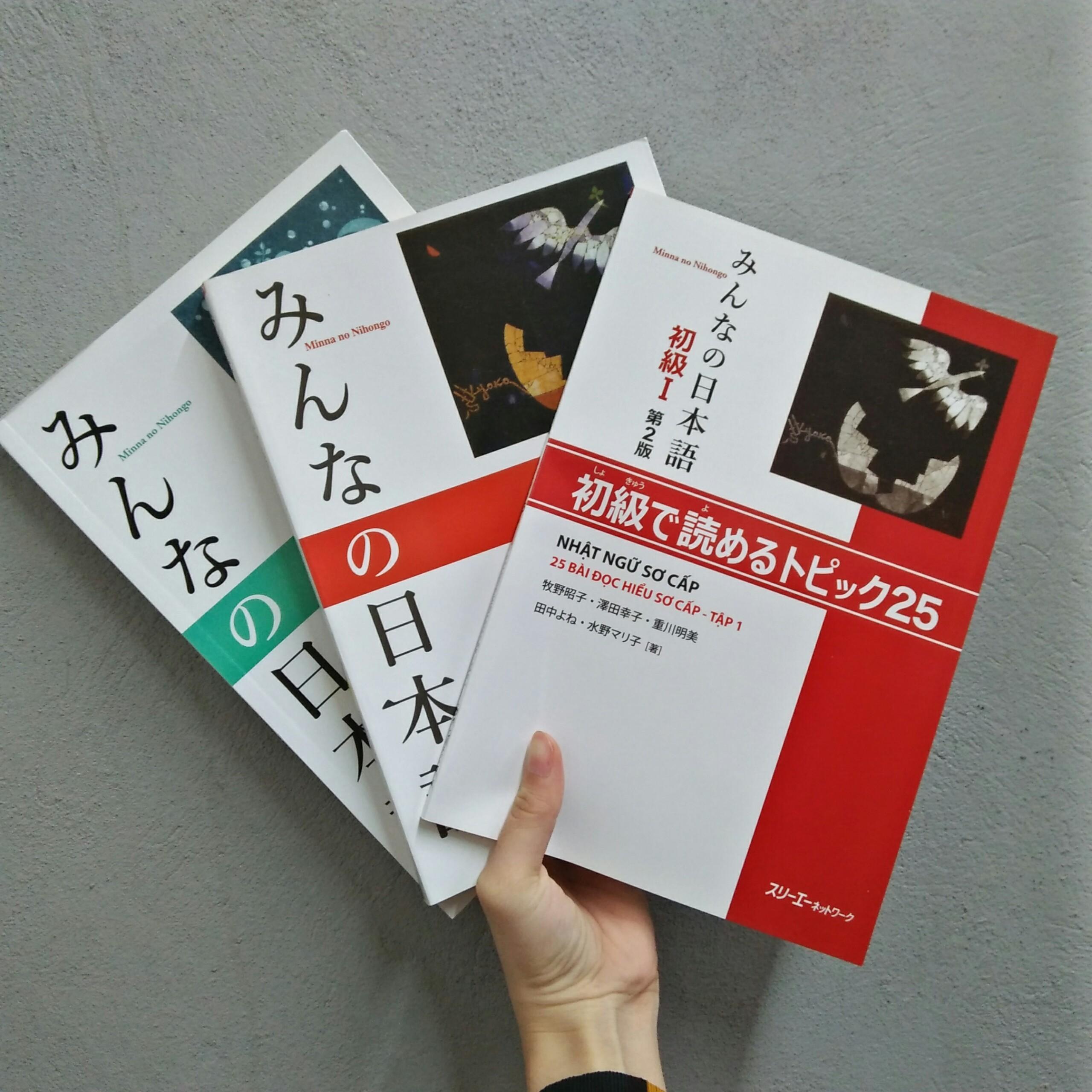 Sách Tiếng Nhật - Bộ Minna No Nihongo Sơ Cấp 1 Bản Mới (3 Cuốn) Có Giá Rất Tốt
