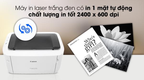 Máy in  Canon 6030W in Wifi Tiện Lợi, mực rẻ