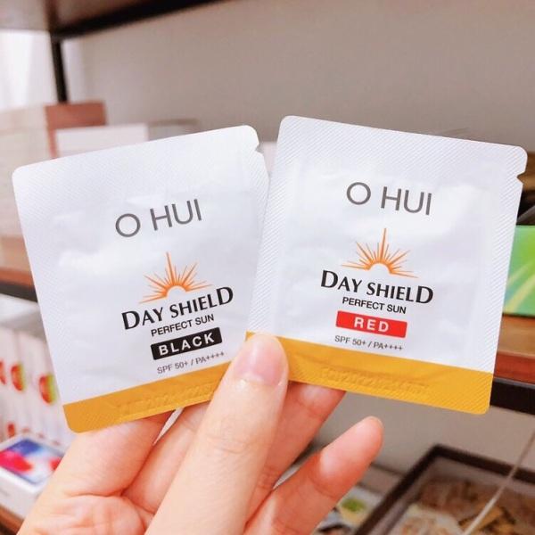 [SALE SẬP SÀN] sample 10 gói kem chống nắng OHui