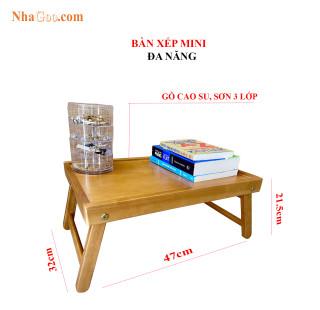 Bàn Xếp Gỗ Đa Năng NHAGOO - Kích thước 47x32x21.5cm thumbnail