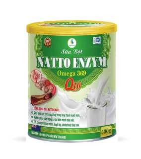 Sữa thảo dược NATTO ENZYME não tim mạch huyết áp thumbnail