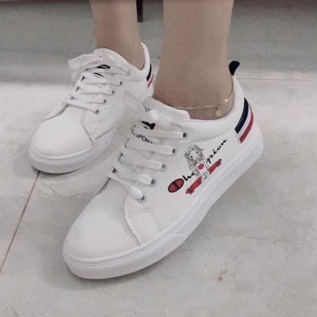 giày trắng thể thao giá rẻ