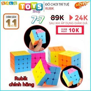 [FREESHIP] Rubik 3x3 Qiyi, Rubik 2x2, 4x4, 5x5 Nguyên Khối, Đồ Chơi Trí Tuệ Cho Bé. thumbnail