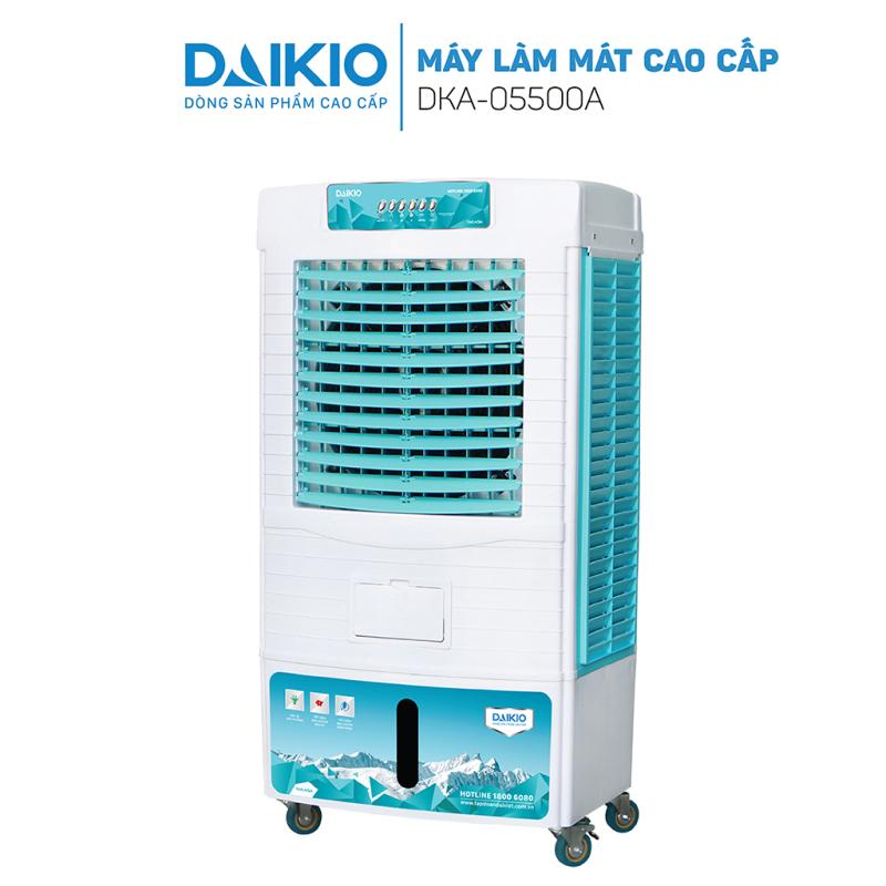 Máy làm mát không khí Daikio DKA-05500A cao cấp - Quạt điều hòa hơi nước Daikio sức gió 5500m3/h