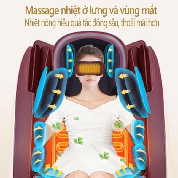 Ghế massage máy mát xa KAIMEIDI tự động đa chức năng loa Bluetooth nhạc 3D lập thể ghế mát xa kiểu phi thuyền chân không Tops Market
