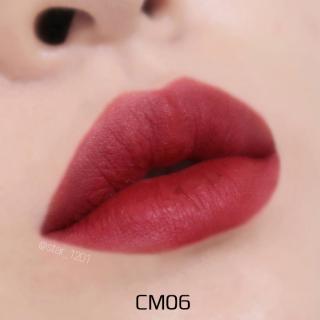 Son Kem Lì Black Rouge Cream Matt Rouge phiên bản mới, son blackrouge CM01,CM02,CM03,CM04,CM05,CM06,CM07 , Son màu đỏ,cam,nâu, đất, sẫm, gạch,đào mẫu mới, son background, son môi rẻ, son kem rẻ, son moi gia re, son kem li, son long, son nuoc thumbnail