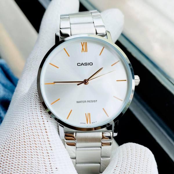 Đồng hồ nam giá rẻ Casio MTP VT01D-7BUDF Bảo hành máy 1 năm- Pin trọn đời Hyma watch