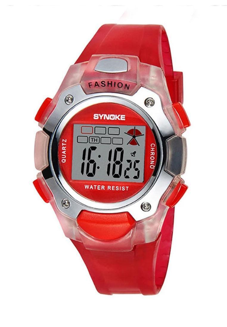 Giá bán Đồng hồ cho bé gái Synoke 99319 đỏ