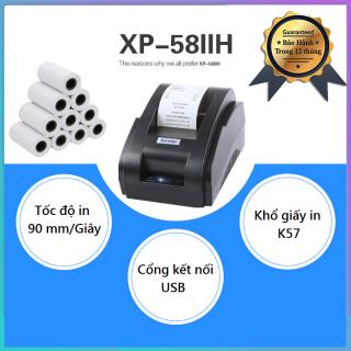 Máy In Hóa Đơn Xprinter 58IIH Khổ Giấy K58 Free 10 Cuộn Giấy In thumbnail