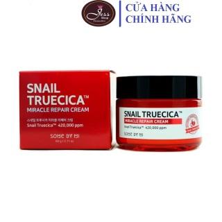 Kem Dưỡng Ẩm Phục Hồi, Cải Thiện Sẹo Lõm Chiết Xuất Ốc Sên Some By Mi Snail Truecica Miracle Repair Cream 60g thumbnail