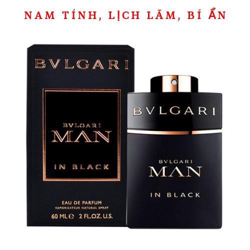 Nước hoa nam Bvlgari Man In Black  Eau De Parfum 60ml nhập khẩu