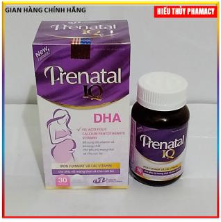 Vitamin tổng hợp cho bà bầu, axit folic cho bà bầu PRENATAL IQ DHA thumbnail