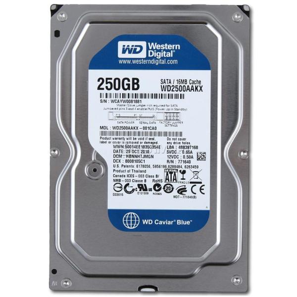 Bảng giá Ổ cứng PC HDD 250G tặng dây sata bảo hành 24 tháng Phong Vũ