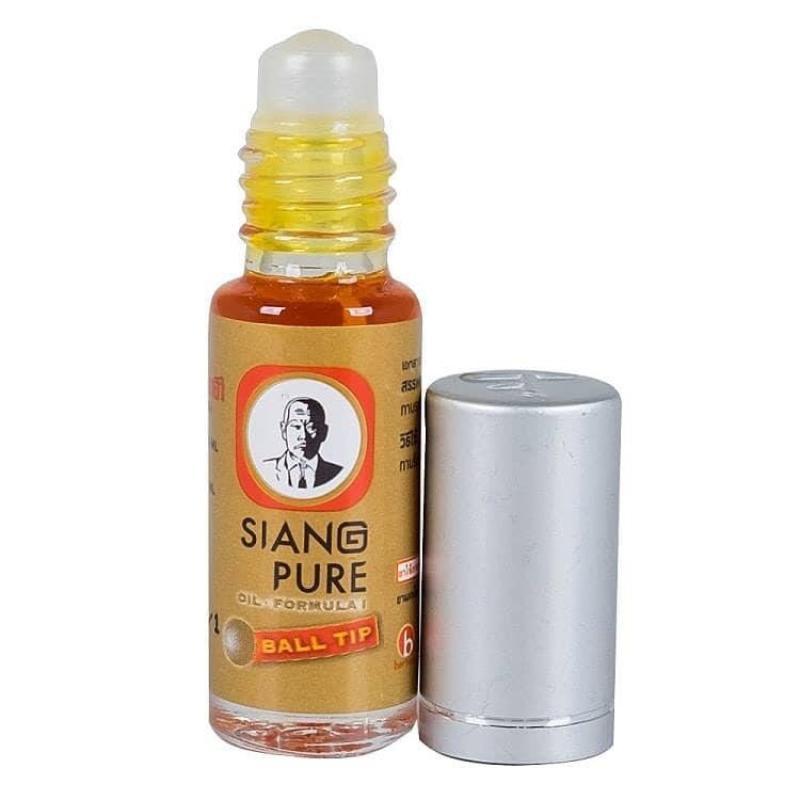 Dầu gió lăn Siang Pure Oil Ball Tip  Thái Lan 3cc giá rẻ