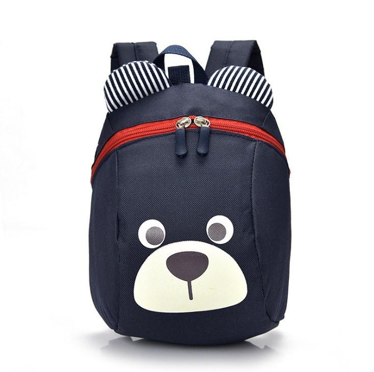 Ba lô đi học hình gấu kiểu Hàn Quốc, Ba lô chống lạc cho bé 1-4 tuổi