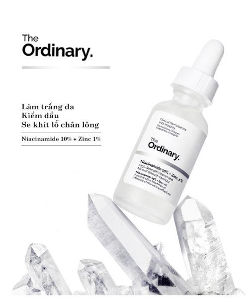 The Ordinary Niacinamide 10% + Zinc 1% Tinh chất dưỡng trắng da chống thâm nám 30ML Serum dầu mặt Cân bằng làm giảm vết thâm cho da Kem dưỡng ẩm làm trắng da Moisturizing Skin Care Whitening giá rẻ