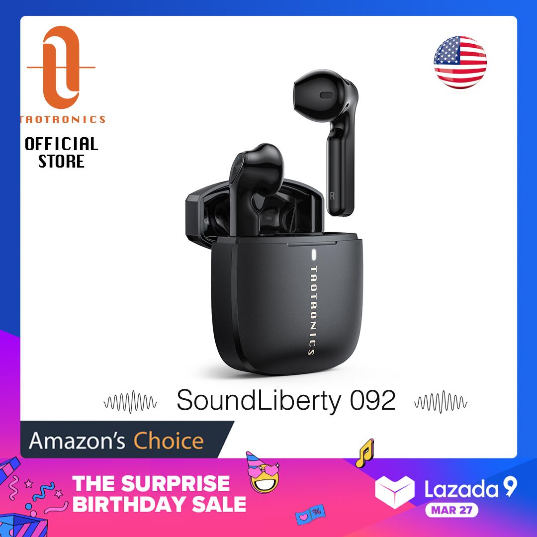 Tai Nghe Bluetooth Không Dây TaoTronics TT-BH092 Sound Liberty 92, Tai Nghe Không Dây Âm Thanh Nổi Hi-Fi, Thời Lượng Phát 30 Giờ, Chống Nước IPX7, Điều Khiển Cảm Ứng Thông Minh, Mic Tích Hợp, Sạc USB-C