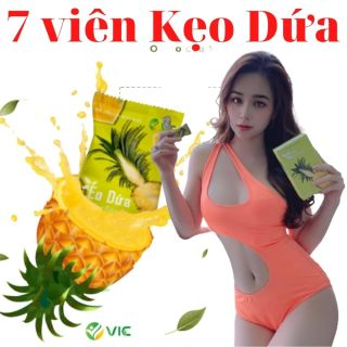 7 viên kẹo dứa giảm cân VIC giảm cân nhanh từ 3-8 kg thumbnail