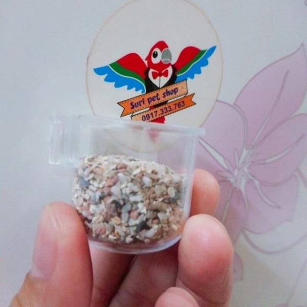 Cóng đựng khoáng,cám trứng..cho chim yến,finch và các dòng sẻ