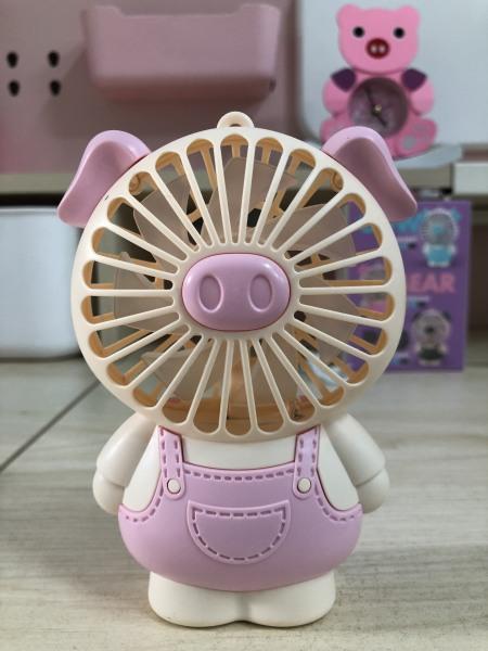 Quạt Mini Tích Điện Cầm Tay cute dễ thương 003
