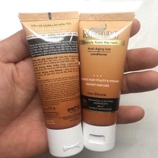 Dầu xả ngăn lão hoá tóc Megumi 25g ( hàng dùng thử) thumbnail