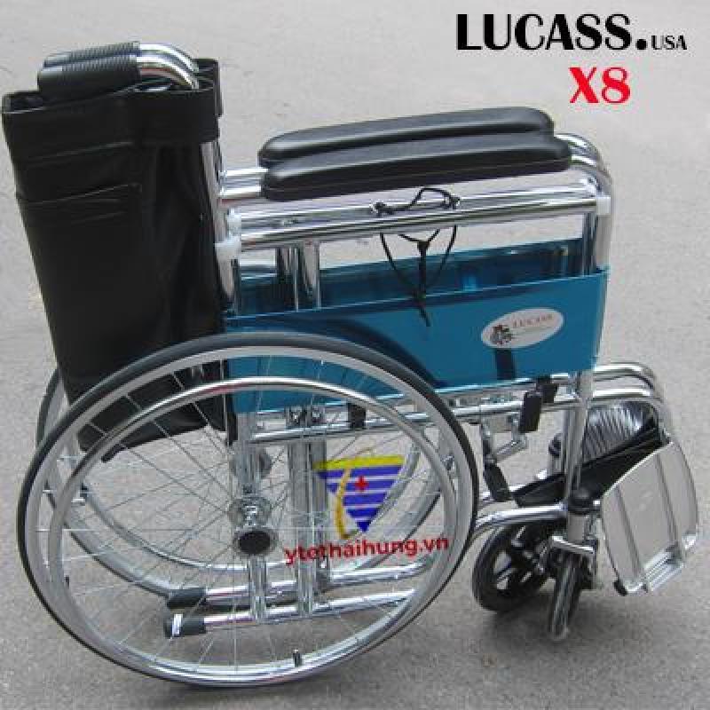 Xe Lăn Tiêu Chuẩn Lucass + 20 Miếng băng Urgo băng vết thương