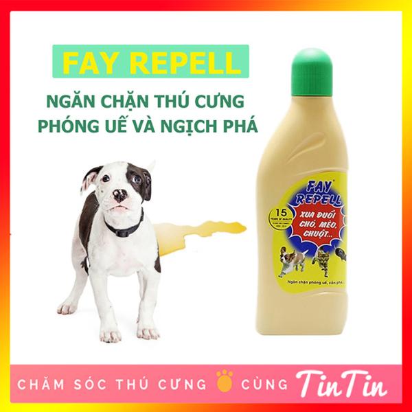 Dung Dịch Xua Đuổi Chó, Mèo và Chuột FAY REPELL 200 ml và 400ml
