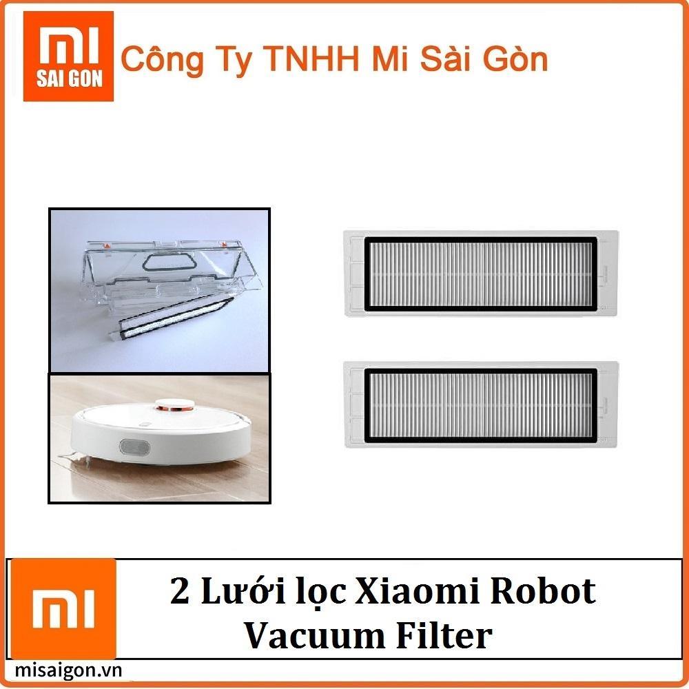 Bộ 2 màng lọc thay thế cho máy hút bụi robot vacuum xiaomi