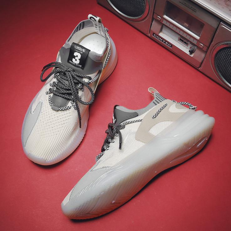 Giày thể thao sneaker nam D88 đường may tinh tế, êm và ôm chân, đế cao su dày dặn, phong cách trẻ trung thời trang