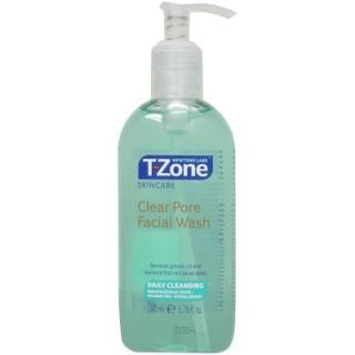 Sữa rửa mặt tràm chà sạch lỗ chân lông T-Zone Clear Pore Facial Wash 200ml thumbnail