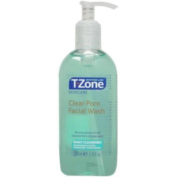 Sữa rửa mặt tràm chà sạch lỗ chân lông T-Zone Clear Pore Facial Wash 200ml