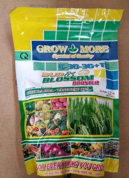 [HCM]PHÂN BÓN LÁ GROWMORE 6-30-30 1kg kích thích ra hoa phan bon la my tot cho cay ra hoa dong loat