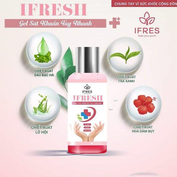 Nước rửa tay khô IFES, nước rửa tay diệt mọi vi khuẩn