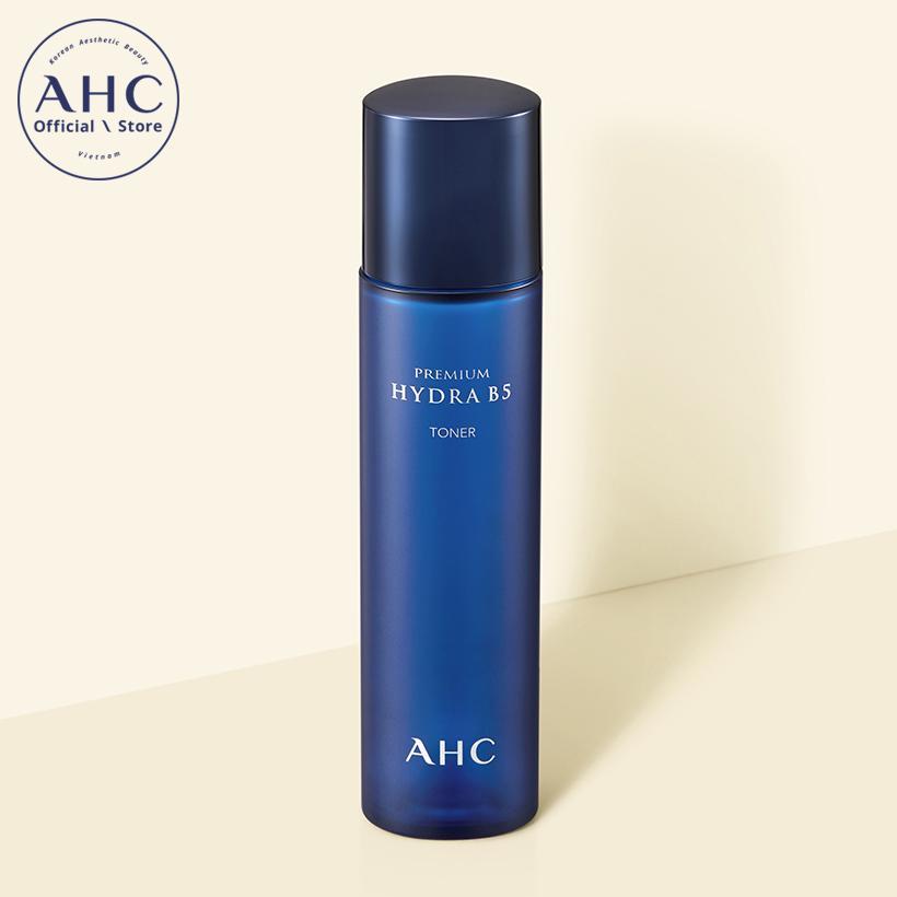 Nước hoa hồng dưỡng ẩm chuyên sâu AHC Premium Hydra B5 Toner 120ml