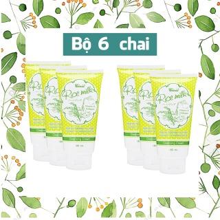 Bộ 6 Tuýp Sữa Rửa Mặt Gạo Rice Milk Thái Lan sạch nhờn, ngừa mụn, an toàn cho da (180ml x6) thumbnail
