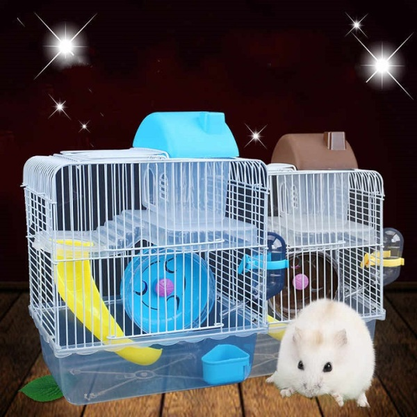 Lồng nuôi hamster Hoàng tử 2 tầng size Lớn nhiều màu sắc để lựa chọn